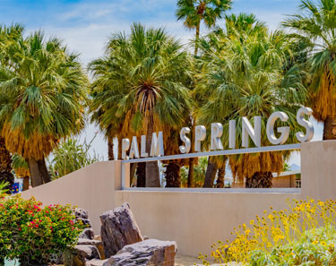 Downtown Palm Springs & Design District at California